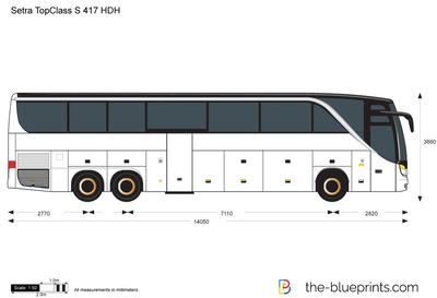 Setra TopClass S 417 HDH