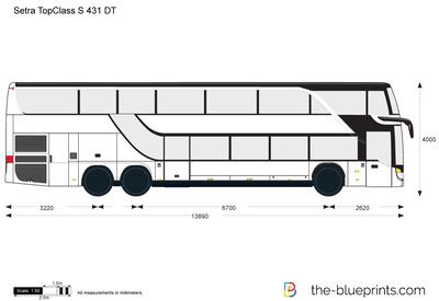 Setra TopClass S 431 DT
