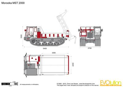 Morooka MST 2000