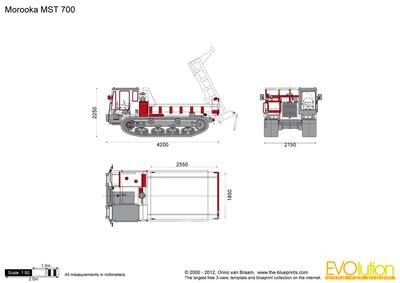Morooka MST 700