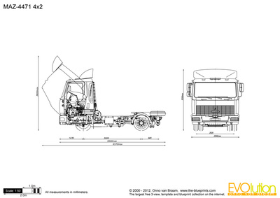 MAZ-4471 4x2