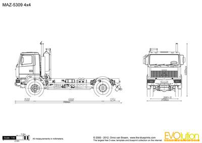 MAZ-5309 4x4