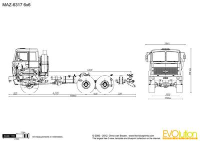 MAZ-6317 6x6