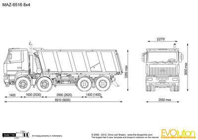MAZ-6516 8x4