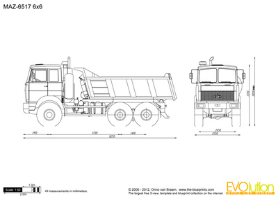 MAZ-6517 6x6