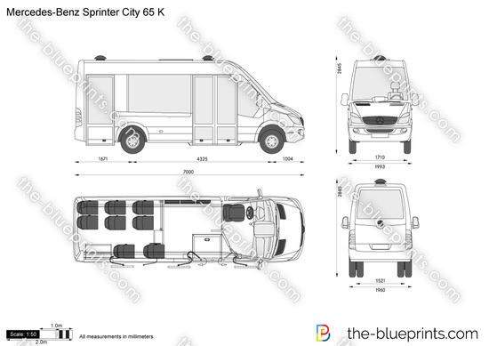 Mercedes-Benz Sprinter City 65 K