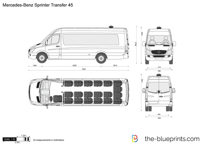 Mercedes-Benz Sprinter Transfer 45