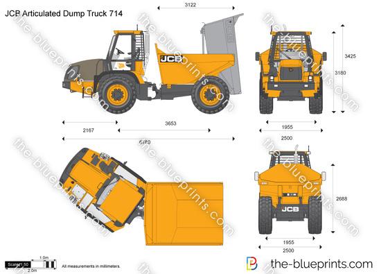 JCB 714 Articulated Dump Truck