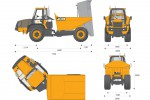 JCB 718 Articulated Dump Truck