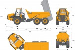 JCB 722 Articulated Dump Truck