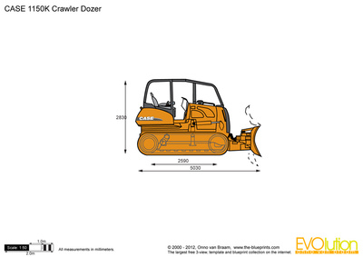 CASE 1150K Crawler Dozer