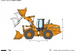 CASE 1221E Wheel Loader