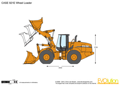 CASE 921E Wheel Loader