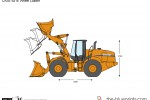 CASE 921E Wheel Loader