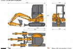 CASE CX20B Mini Excavator