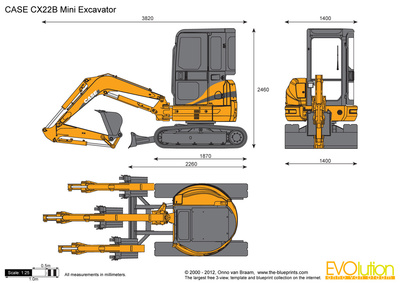 CASE CX22B Mini Excavator