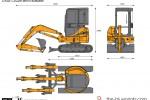 CASE CX22B Mini Excavator