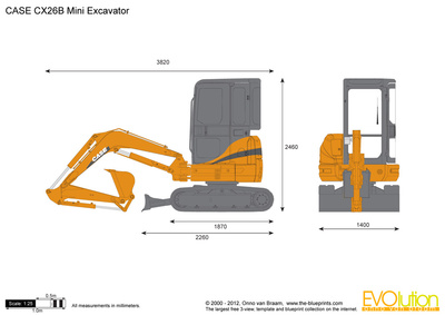 CASE CX26B Mini Excavator