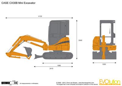CASE CX30B Mini Excavator