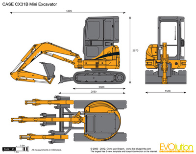 CASE CX31B Mini Excavator
