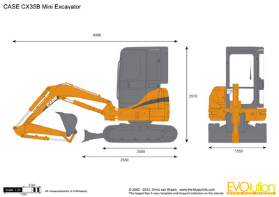 CASE CX35B Mini Excavator
