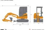 CASE CX35B Mini Excavator