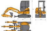 CASE CX36B Mini Excavator