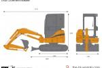 CASE CX39B Mini Excavator