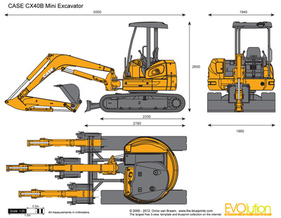 CASE CX40B Mini Excavator