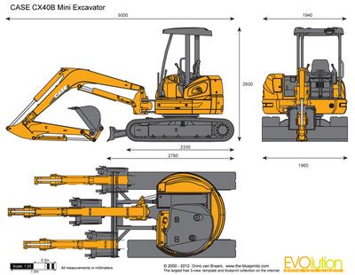 CASE CX40B Mini Excavator