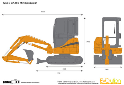 CASE CX45B Mini Excavator
