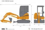 CASE CX50B Mini Excavator