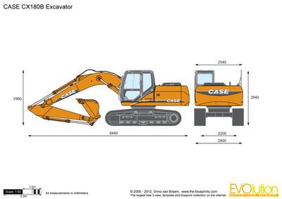 CASE CX180B Excavator