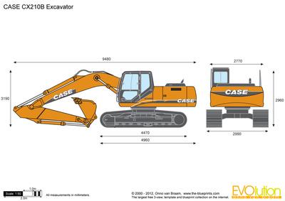 CASE CX210B Excavator