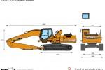 CASE CX210B Material Handler
