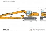 CASE CX240B LR Excavator