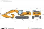 CASE CX290B Excavator