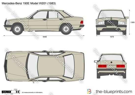 Mercedes-Benz 190E Model 201