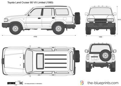 Toyota Land Cruiser 80 VX Limited