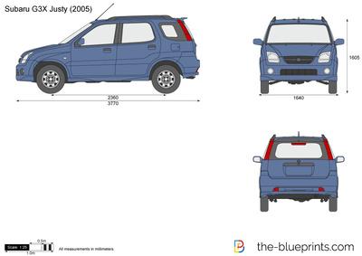 Subaru G3X Justy (2005)
