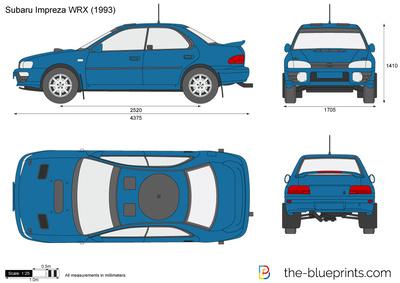 Subaru Impreza WRX (1993)