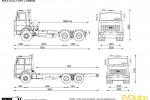 MAZ-6303 6x4 Chassis