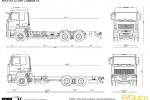 MAZ-6312 6x4 Chassis v2
