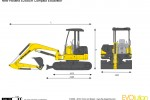 New Holland E26BSR Compact Excavator