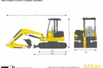 New Holland E29BSR Compact Excavator
