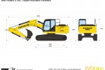 New Holland E195C Tripple Articulation Excavator