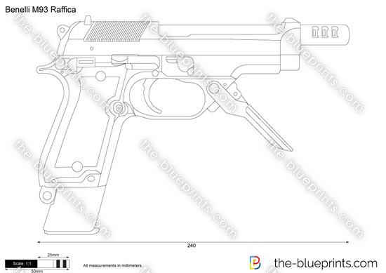 Benelli M93 Raffica