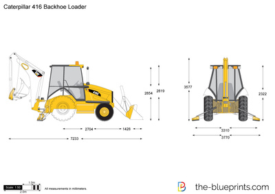 Caterpillar 416 Backhoe Loader