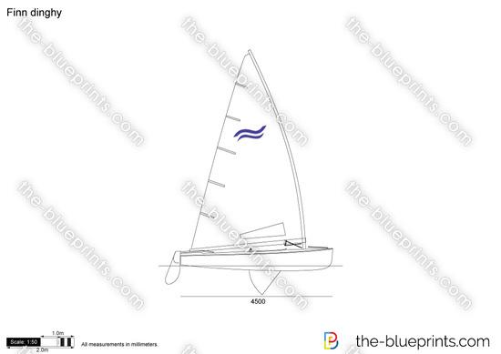 Finn dinghy