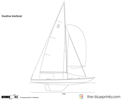 Swallow keelboat